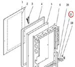 #Bracket, Switch-Front Door